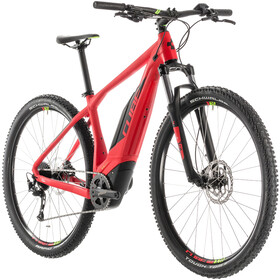 Cube Acid Hybrid ONE 500 E-mountainbike rød